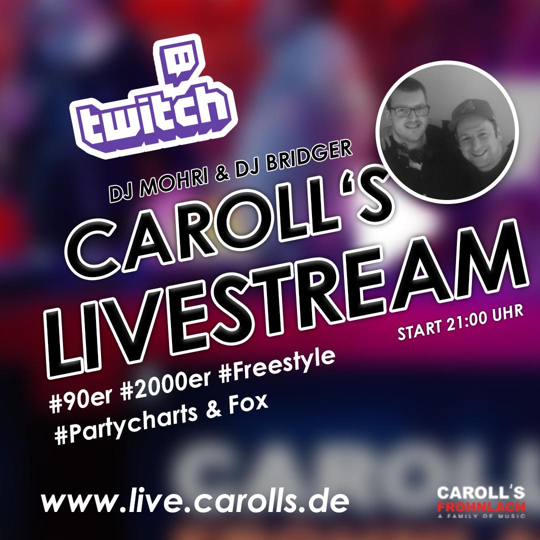 Der Ü25 CAROLLS Livestream aus Oberfranken