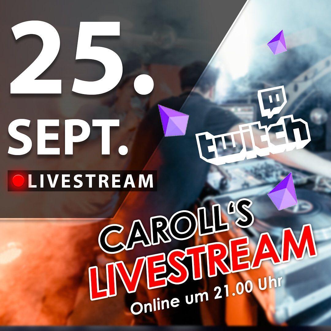 Carolls Frohnlach Livestream mit DJ Eckes & Marc Pain